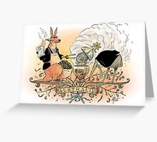 Australia's climate policy coat of arms Greeting Card