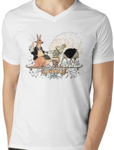 Australia's climate policy coat of arms Mens V-Neck T-Shirt