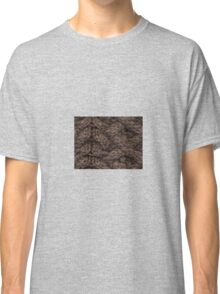 Brown Haka Cable Knit Classic T-Shirt