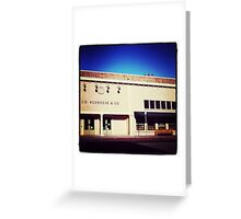 J.D. Redhouse, Downtown Willits Greeting Card