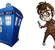 10th Doctor sticker set by oriana132