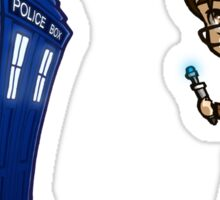 10th Doctor sticker set Sticker