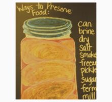 Old Ball Jar of Peaches One Piece - Long Sleeve