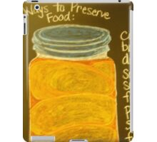 Old Ball Jar of Peaches iPad Case/Skin