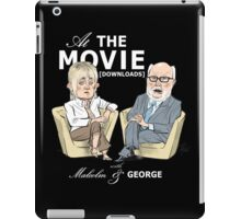 At the Movie Downloads with Malcolm and George iPad Case/Skin