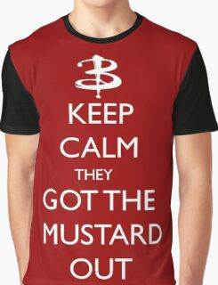 They got the mustard out Graphic T-Shirt