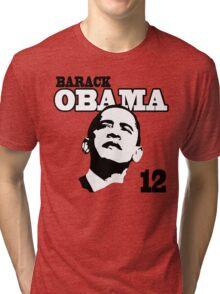 Women's Obama 2012 Shirt Tri-blend T-Shirt