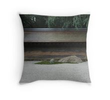 Ryōan-ji Throw Pillow