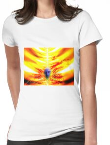 welcome to hell Womens Fitted T-Shirt
