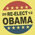 Womens Re-Elect Obama 2012 Shirt by ObamaShirt
