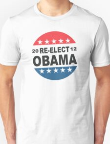 Womens Re-Elect Obama 2012 Shirt Unisex T-Shirt