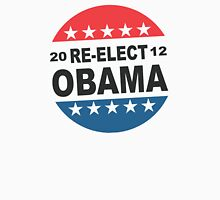 Womens Re-Elect Obama 2012 Shirt Womens Fitted T-Shirt