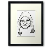 """The Hearten One""  Framed Print"