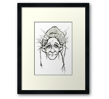 """The Sad One"" Framed Print"