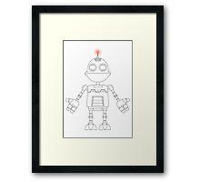 Ratchet & Clank Portrait Framed Print