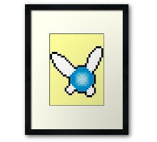 Pixel Navi Framed Print