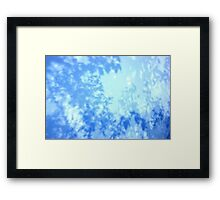 shadow on the truck Framed Print