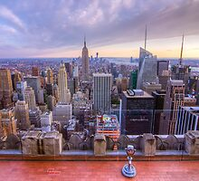 A Downtown view of New York City by phototherapy318