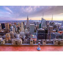 A Downtown view of New York City Photographic Print