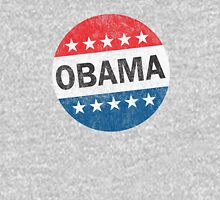 Vote Obama 2012 Vintage Button Shirt Unisex T-Shirt