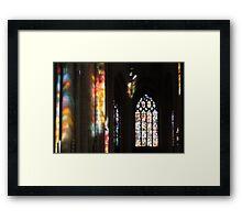 Enchanting light Framed Print