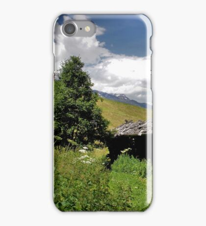 Two old Barns iPhone Case/Skin