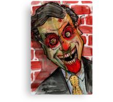 zombie colbert Canvas Print