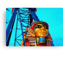 Pharoah ride Canvas Print