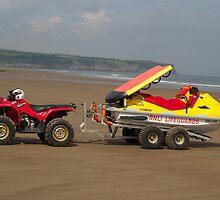 RNLI ATV and rescue jet ski by Jon Lees