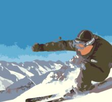 Ski Kitzbühel Austria Sticker