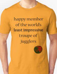 Happy juggler. Unisex T-Shirt