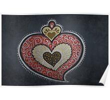 Angel's Heart Graffiti Poster
