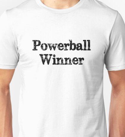 Powerball winner lotto jackpot Unisex T-Shirt