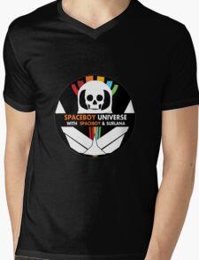 Spaceboy Universe Webcast Logo Mens V-Neck T-Shirt