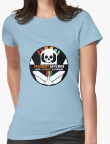 Spaceboy Universe Webcast Logo Womens Fitted T-Shirt