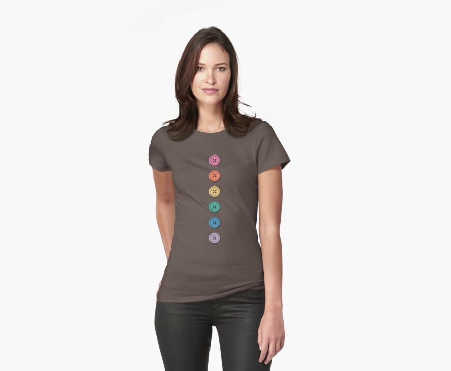 Button Tee by Amy-Elyse Neer