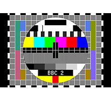 Testcard G Photographic Print