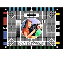Testcard F Photographic Print