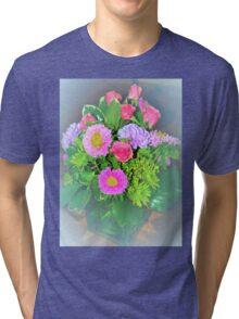 Flower aura Tri-blend T-Shirt