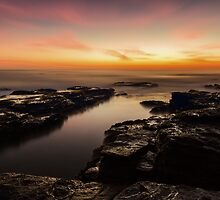 Light in the Channel by Mark  Lucey
