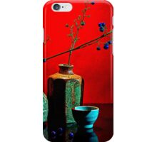 Still life with ceramic iPhone Case/Skin