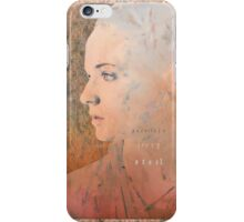Porcelain, Ivory, Steel.  iPhone Case/Skin