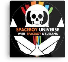 Spaceboy Universe Webcast Logo Metal Print