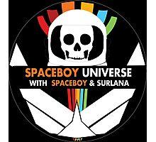Spaceboy Universe Webcast Logo Photographic Print