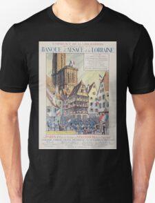 Emprunt de la Libération On souscrit á la Banque dAlsace et de Lorraine Entrée des Français á Strasbourg T-Shirt