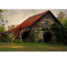 The Old Country Barn Photographic Print