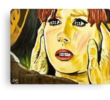The Doctor Donna Canvas Print