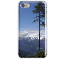 Overlooking Stubaier Alps  iPhone Case/Skin