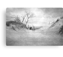Empty Beach Canvas Print