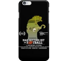 Man Getting Hit By Football iPhone Case/Skin